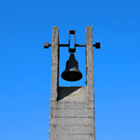 Memorial funeral bells in Khatyn