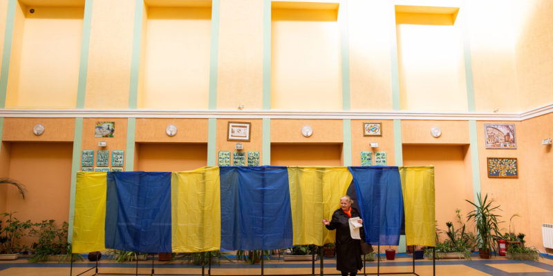 Ukraine Presidential Election 2019