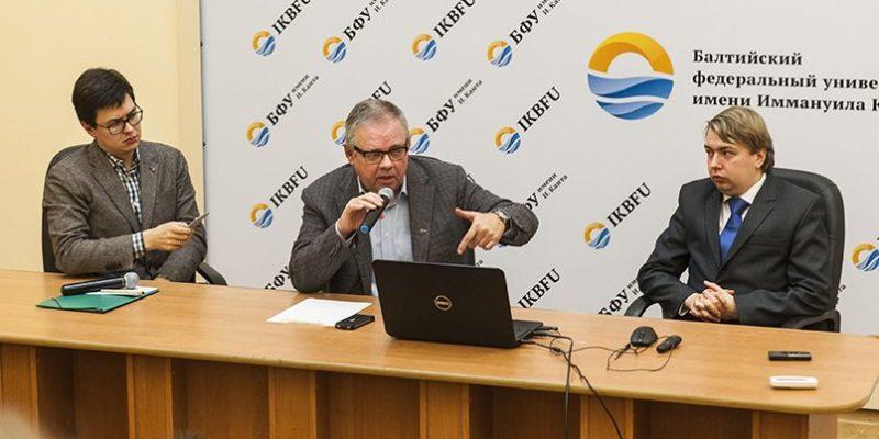 Сергей Рекеда, Владимир Мамонтов и Александр Носович. Фото: RuBaltic.Ru / M.Green