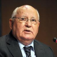 Former Soviet Union President Mikhail Go