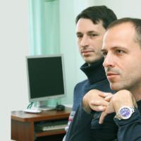 Слева — Николай Дьяков, справа — Константин Семин.
