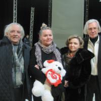 Слева направо: БК, Валентина Еренькова, Магда Крепак, Алексей Ереньков.