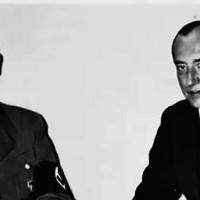 Министр иностранных дел Польши Юзеф Бек на приеме у Адольфа Гитлера