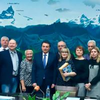 На встрече с мэром Сочи Анатолием Пахомовым