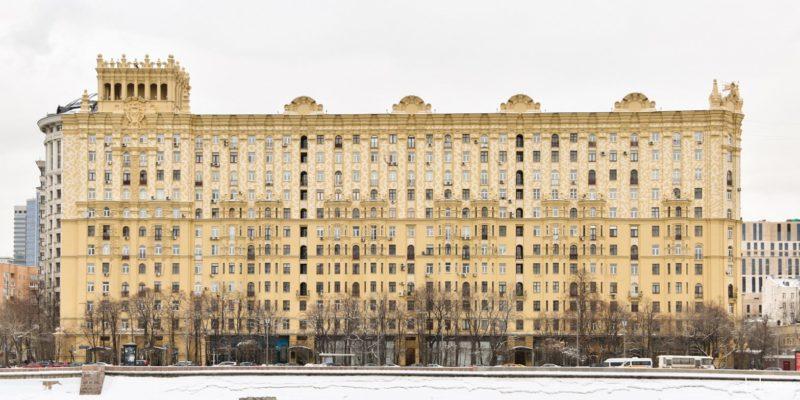 Генеральский дом на Смоленской набережной, Борис Бархин