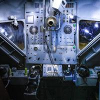 Модель кабины американского корабля «Аполлон»